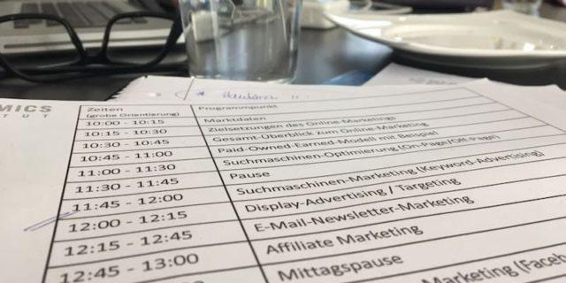 Online Marketing Seminar in Köln - Dock 692